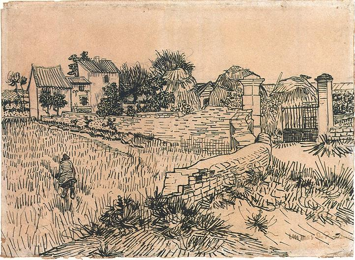 Vincent Van Gogh The Drawings