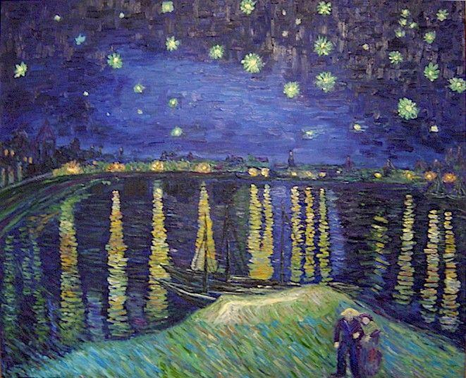 Van+gogh+starry+night+over+the+rhone
