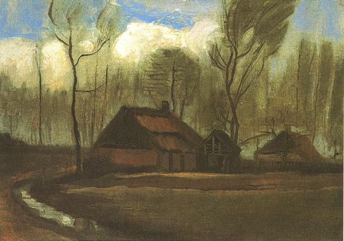 paintings of trees. The Paintings (Farmhouses