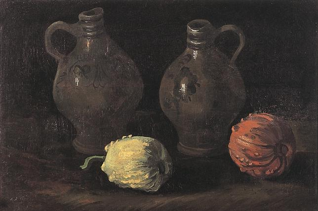 vincent van gogh the paintings still life with two jars and two rh vggallery com