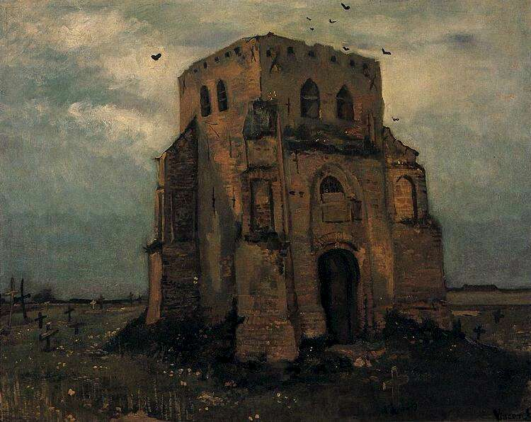 vincent van gogh the paintings old church tower at nuenen the rh vggallery com