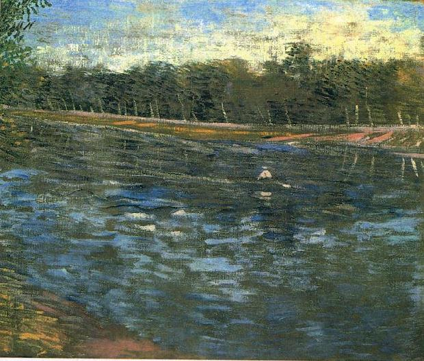 Vincent van Gogh: The Paintings (The Seine with a Rowing Boat)