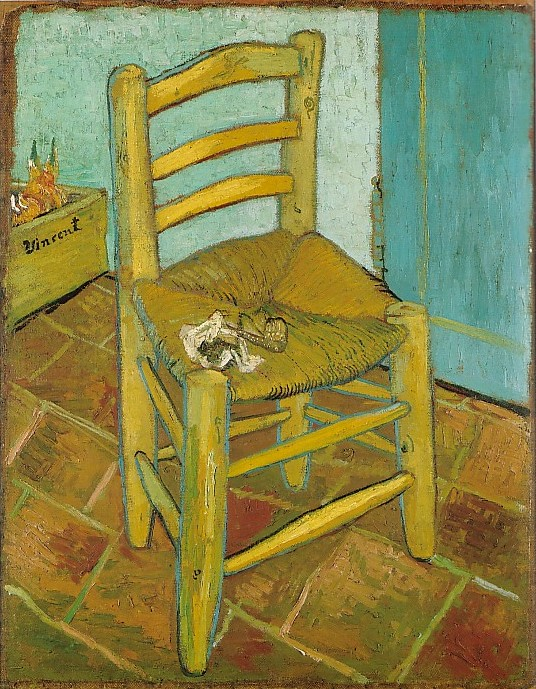 Click here to go to  Vincent s Chair with His Pipe  page. Vincent van Gogh  The Paintings  Two Chairs