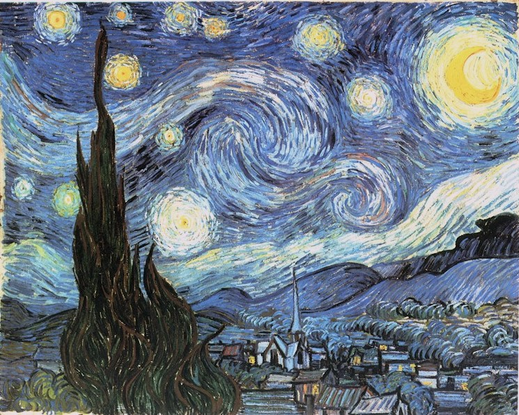vincent van gogh or submissions click here to view starry night