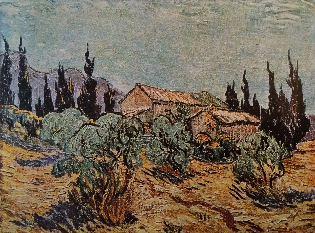 Vincent Van Gogh The Paintings Wooden Sheds